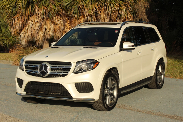 Pre-Owned 2017 Mercedes-Benz GLS 550 GLS 550