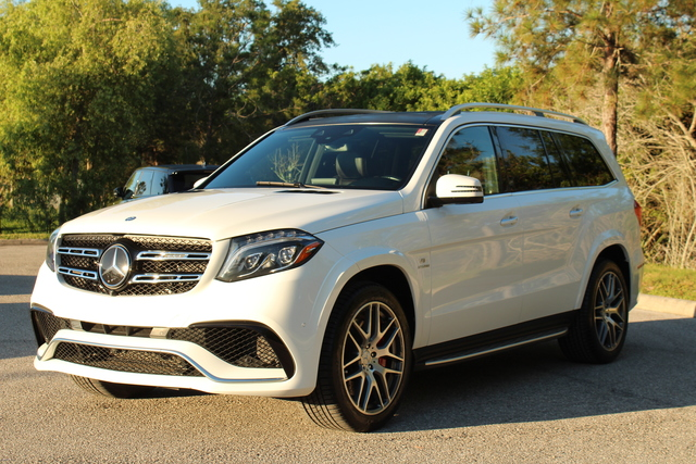 Pre-Owned 2017 Mercedes-Benz AMG® GLS 63 AMG® GLS 63