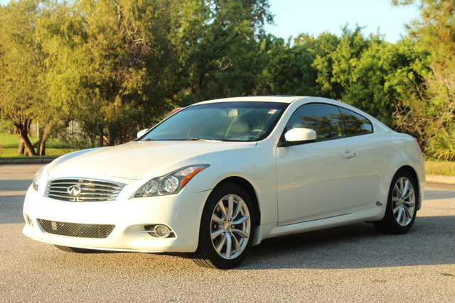 Pre-Owned 2011 INFINITI G37 Coupe Journey
