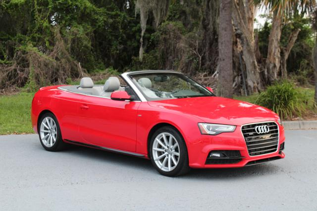 PreOwned Audi A Cabriolet Sport Convertible In Sarasota LR - Audi sports car convertible