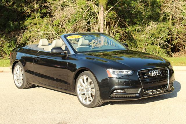 PreOwned Audi A Cabriolet Prestige Convertible In Sarasota - Audi a5 convertible