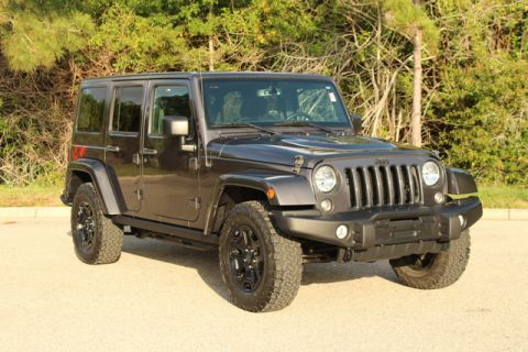 Pre-Owned 2016 Jeep Wrangler Unlimited Backcountry