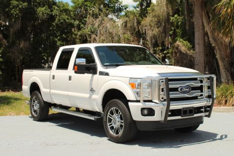 Pre-Owned 2016 Ford Super Duty F-350 SRW Pickup Platinum