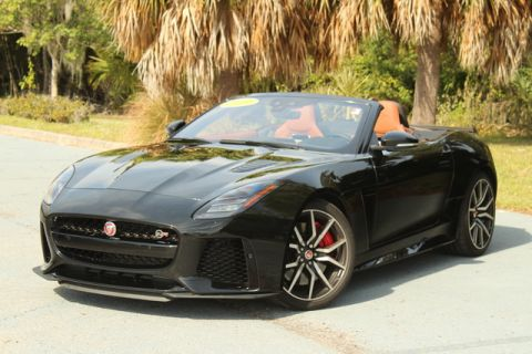 Certified Pre-Owned 2019 Jaguar F-TYPE SVR
