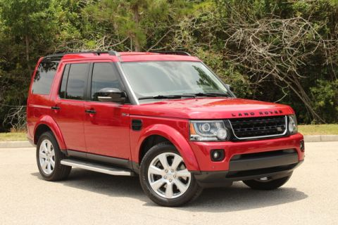 Certified Pre-Owned 2015 Land Rover LR4 LUX