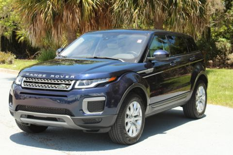 Certified Pre-Owned 2017 Land Rover Range Rover Evoque SE